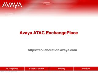 Avaya ATAC ExchangePlace