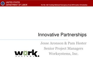 Innovative Partnerships