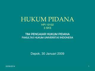 HUKUM PIDANA HPI 10102 3 SKS