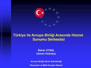 Türkiye ile Avrupa Birliği Arasında Hizmet Sunumu Serbestisi Bahar UYSAL Uzman Hukukçu