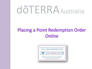 Placing a Point Redemption Order Online