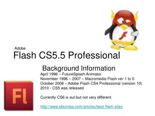 Flash CS5.5 Professional