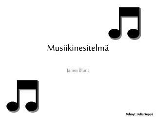 Musiikinesitelmä