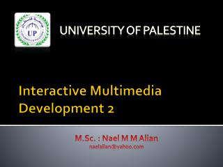 Interactive Multimedia Development 2