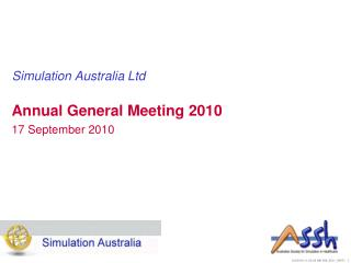Simulation Australia Ltd