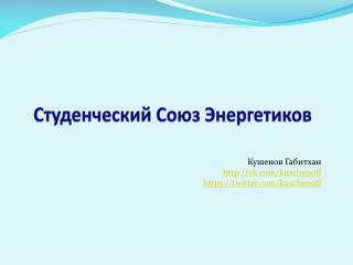 Студенческий Союз Энергетиков