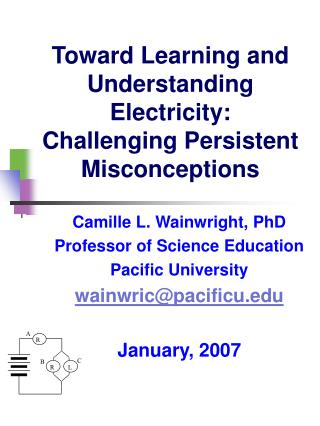 Toward Learning and Understanding Electricity:  Challenging Persistent Misconceptions