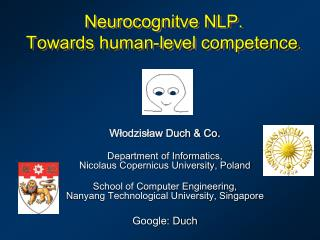 Neurocognitve NLP. Towards human-level competence .