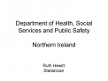 Department of Health, Social Services and Public Safety  Northern Ireland