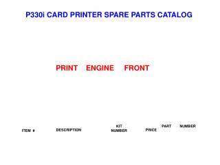 PRINT    ENGINE     FRONT