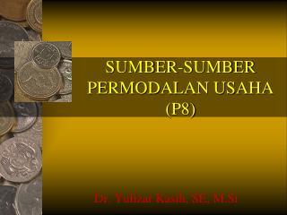 SUMBER-SUMBER PERMODALAN USAHA (P8)