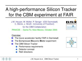 A high-performance Silicon Tracker  for the CBM experiment at FAIR