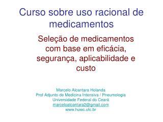Curso sobre uso racional de medicamentos