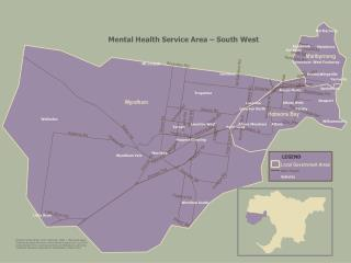 Mental Health Service Area – South West