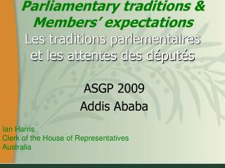 ASGP 2009 Addis Ababa