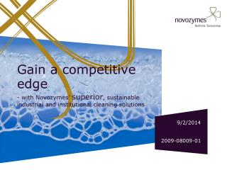 Gain a competitive edge