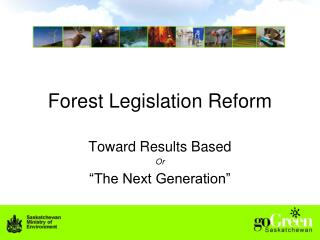 Forest Legislation Reform