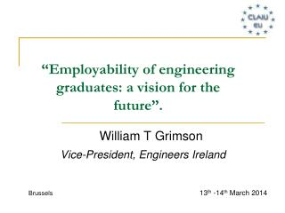"""Employability of engineering graduates: a vision for the future""."