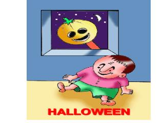 pumpkin                         spirit Jack-o'lantern                 black cat