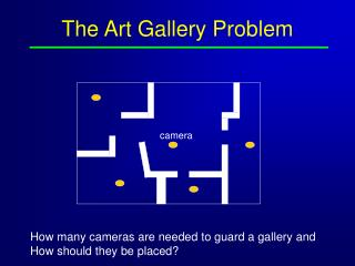 The Art Gallery Problem