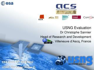 USNG Evaluation