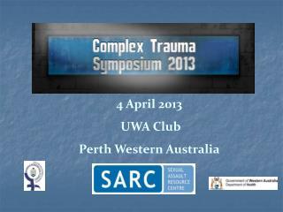 4 April 2013  UWA Club Perth Western Australia