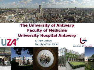 K. Van Liempt Faculty of Medicine