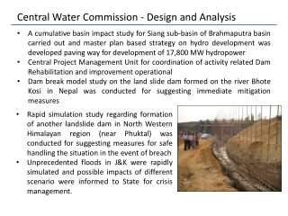 Hydrology for Design of Hydro Power Plants