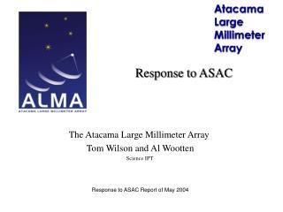 Response to ASAC