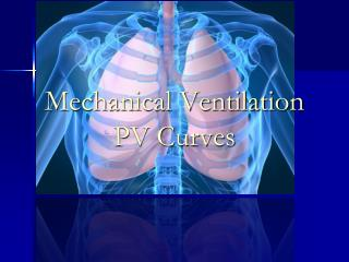 Mechanical Ventilation PV Curves