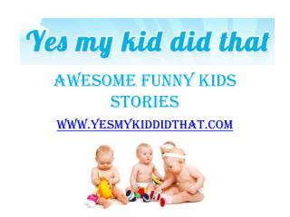 Things My Kids Say in School - www.yesmykiddidthat.com