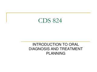 CDS 824
