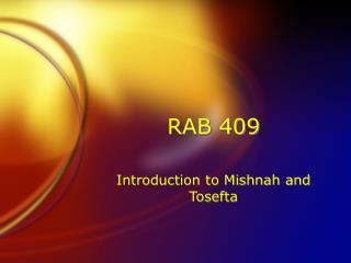 RAB 409