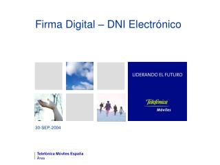 Firma Digital – DNI Electrónico