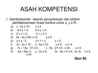 ASAH KOMPETENSI