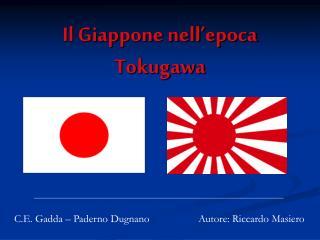 Il Giappone nell'epoca Tokugawa