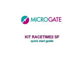 KIT RACETIME2 SF