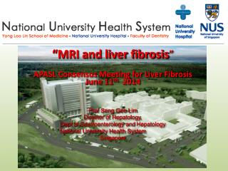"""MRI and liver fibrosis "" APASL Consensus Meeting for Liver Fibrosis June 11 th   2014"
