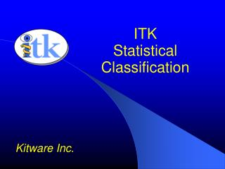 ITK Statistical Classification