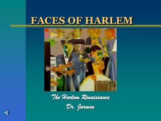 FACES OF HARLEM