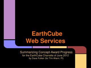 EarthCube Web Services