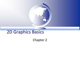 2D Graphics Basics