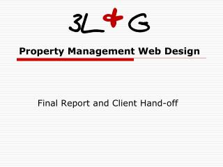 Property Management Web Design