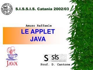 S.I.S.S.I.S. Catania 2002/03