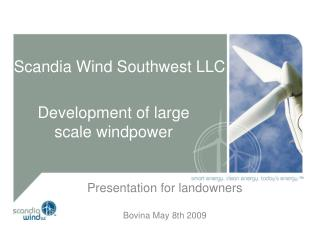 Scandia Wind Southwest LLC