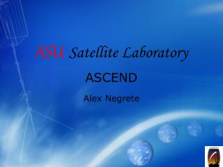 ASU Satellite Laboratory