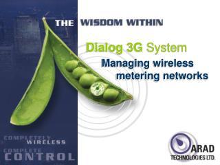 Managing wireless      metering networks