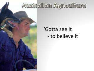 Australian Agriculture