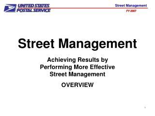 Street Management