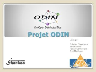 Projet ODIN